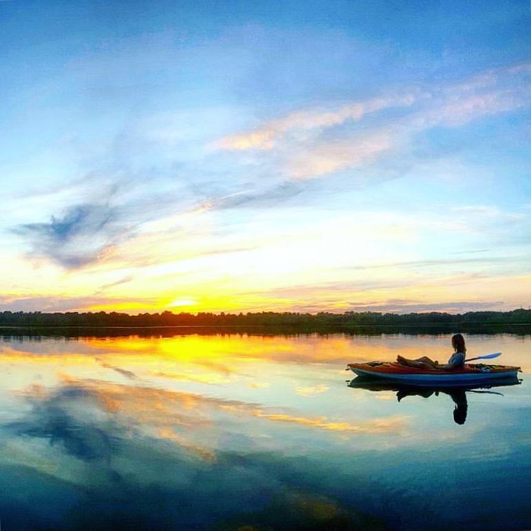 Lake Sixteen Sunset