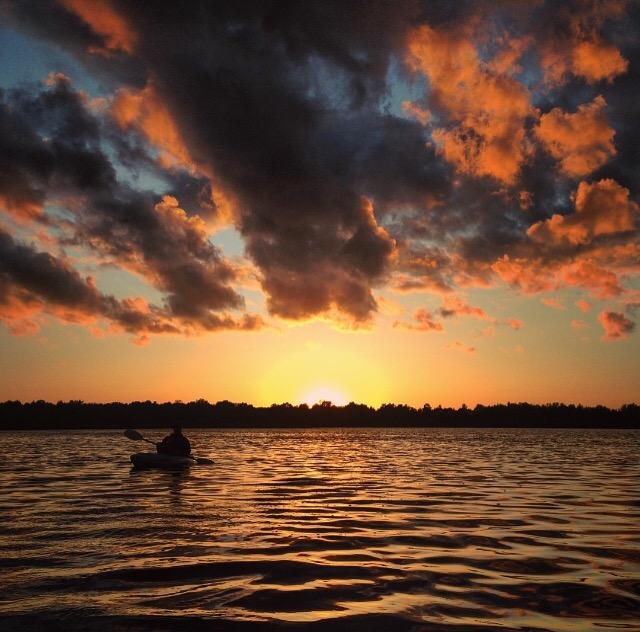 Lake Sixteen paddle