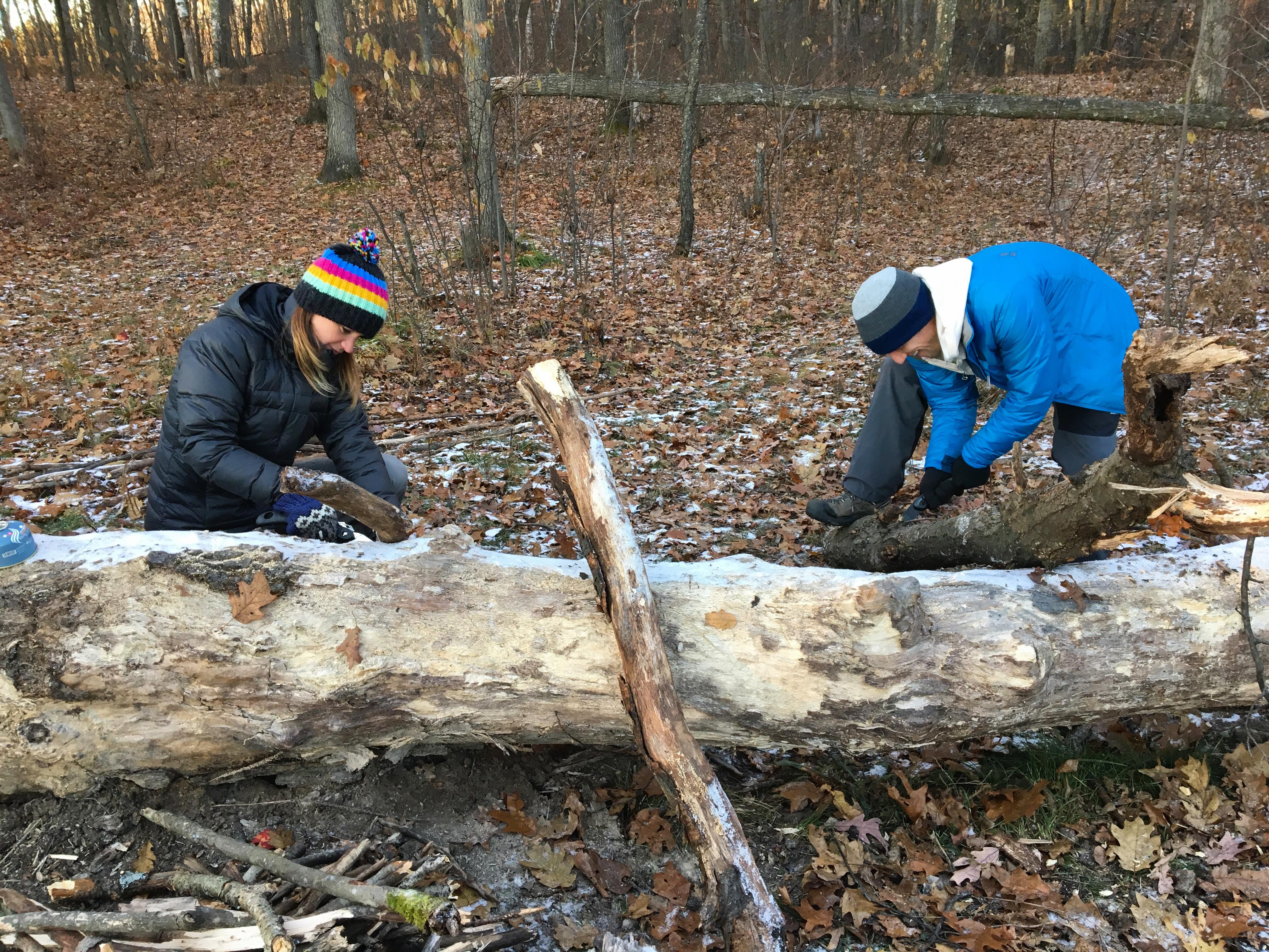 camp-firewood-cold-hiking-hoist-michigan