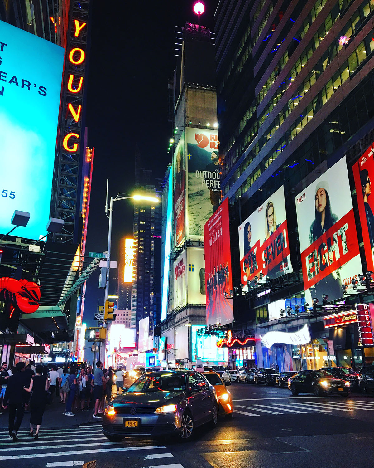 NYC Time Square Nighttime