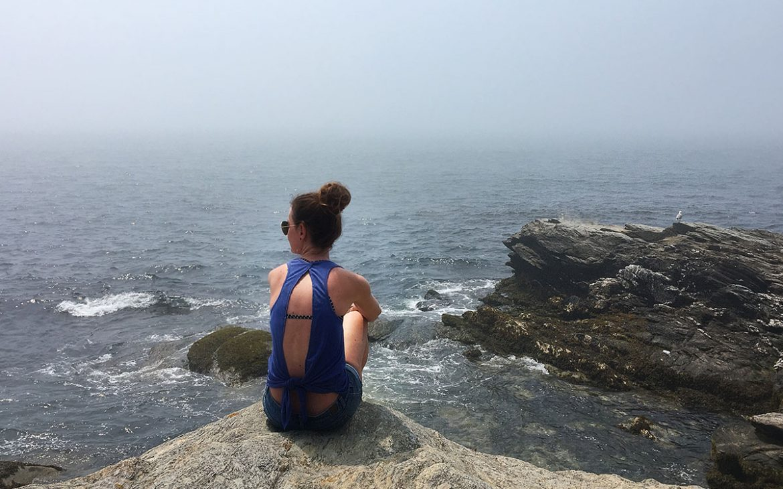 Rhode Island Seaside Cliffs